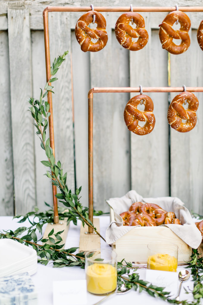 How to make a DIY Pretzel Bar | Featured on It